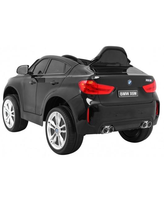 Elektrické autíčko BMW X6M lakované čierne